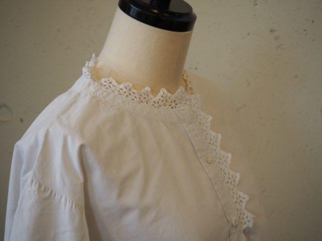 アンティークのシャツ展vol.3 -white blouse-
